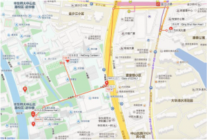 East China Normal University Map